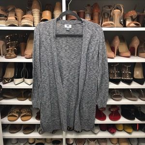 Old Navy Grey Cardigan Size Small